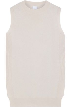 IRIS & INK Lauren wool and cashmere-blend vest