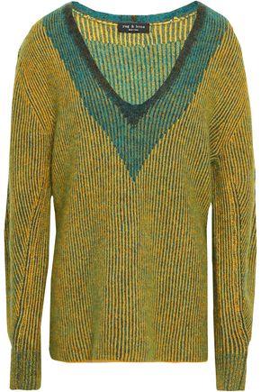 RAG & BONE Jacquard-knit sweater