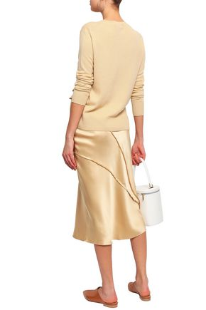 VINCE. Gathered cashmere sweater