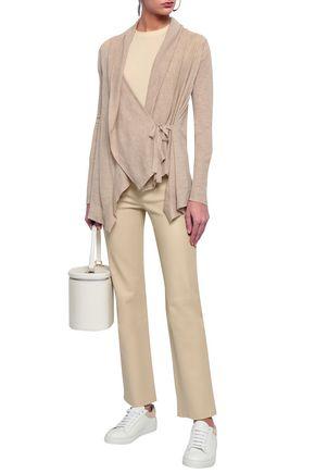 VINCE. Mélange wool and cashmere-blend cardigan