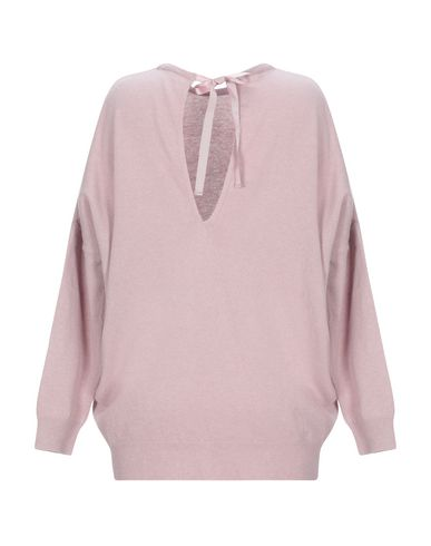 Фото 2 - Женский свитер EUROPEAN CULTURE розового цвета