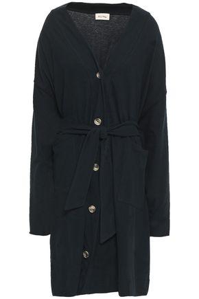 AMERICAN VINTAGE Belted cotton-blend cardigan