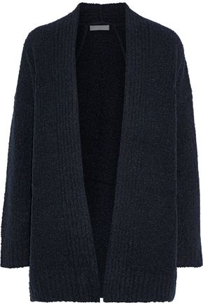 VINCE. Bouclé-knit wool, cashmere and silk-blend cardigan