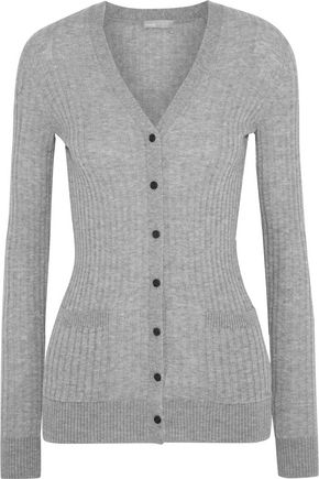 VINCE. Ribbed cashmere cardigan