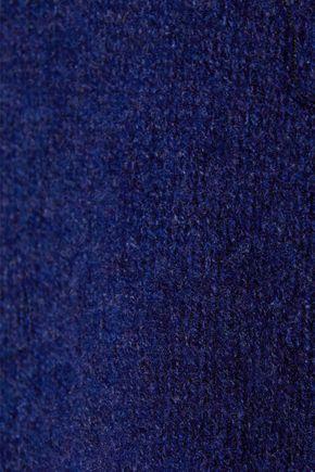 KHAITE Julie mélange cashmere turtleneck sweater