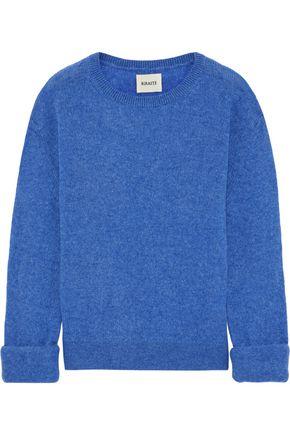 KHAITE Jemima mélange cashmere-blend sweater