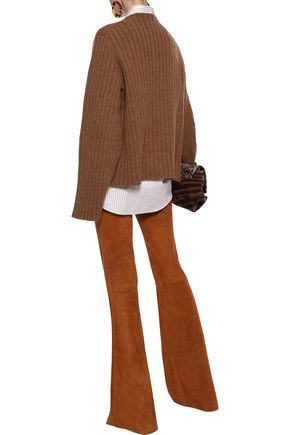 KHAITE Loretta oversized ribbed cashmere sweater
