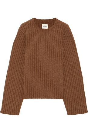 KHAITE Loretta oversized ribbed cashmere sweater