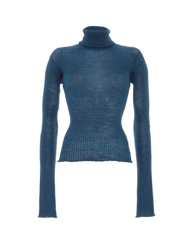 Купить Женскую водолазку  пастельно-синего цвета