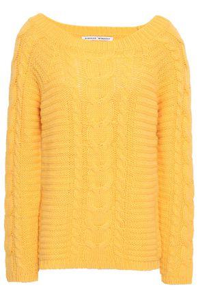 REBECCA MINKOFF Cable-knit sweater