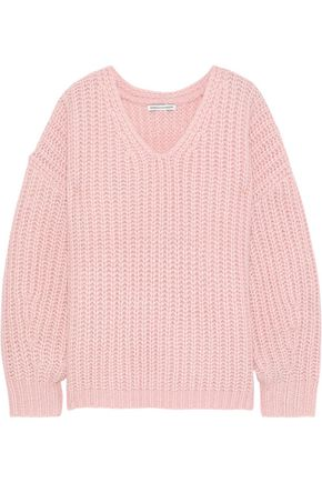 REBECCA MINKOFF Dorit ribbed-knit sweater