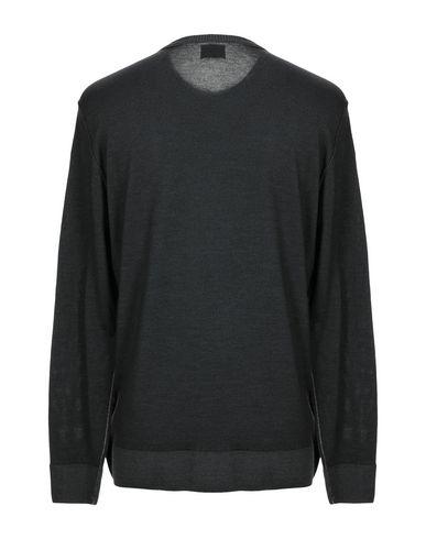 Фото 2 - Мужской свитер  свинцово-серого цвета