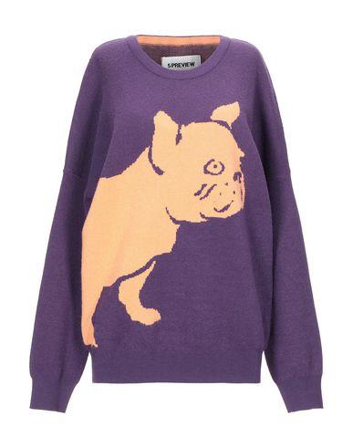 Купить Женский свитер 5PREVIEW фиолетового цвета