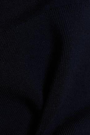 KHAITE Wool-blend peplum top