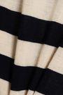 KHAITE Ursula striped merino wool sweater