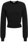 MUGLER Cutout stretch-knit sweater