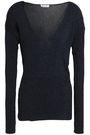 MUGLER Ribbed-knit top