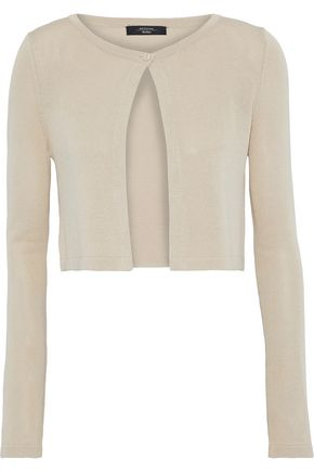 MAX MARA Cropped knitted cardigan