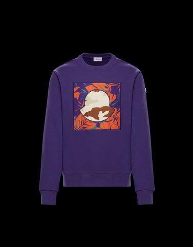 SWEATSHIRT Violett Kategorie Sweatshirts