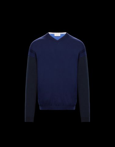 MONCLER V-NECK - V-necks - men