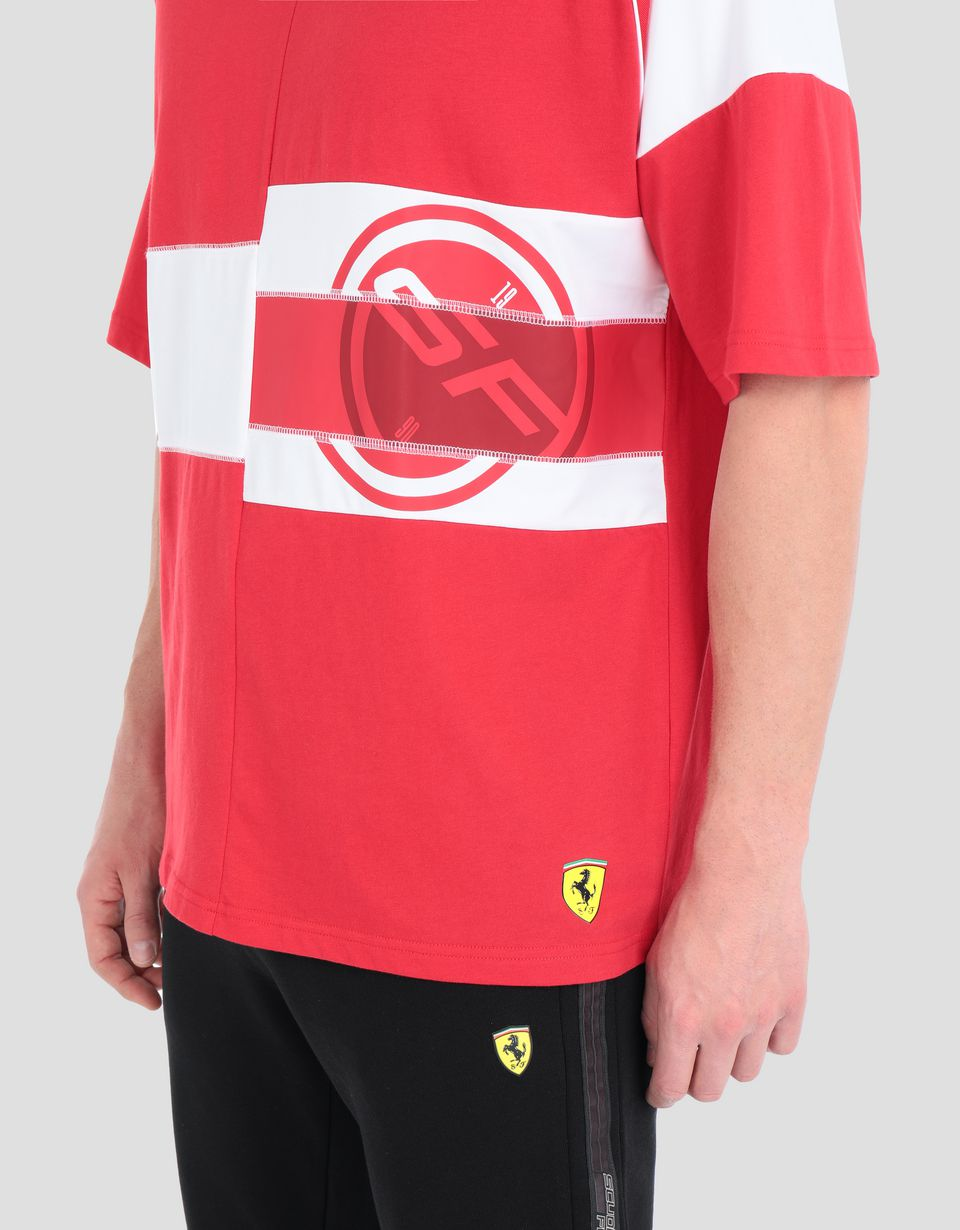 Scuderia Ferrari Online Store - Scuderia Ferrari Speed Cat men's T-shirt -