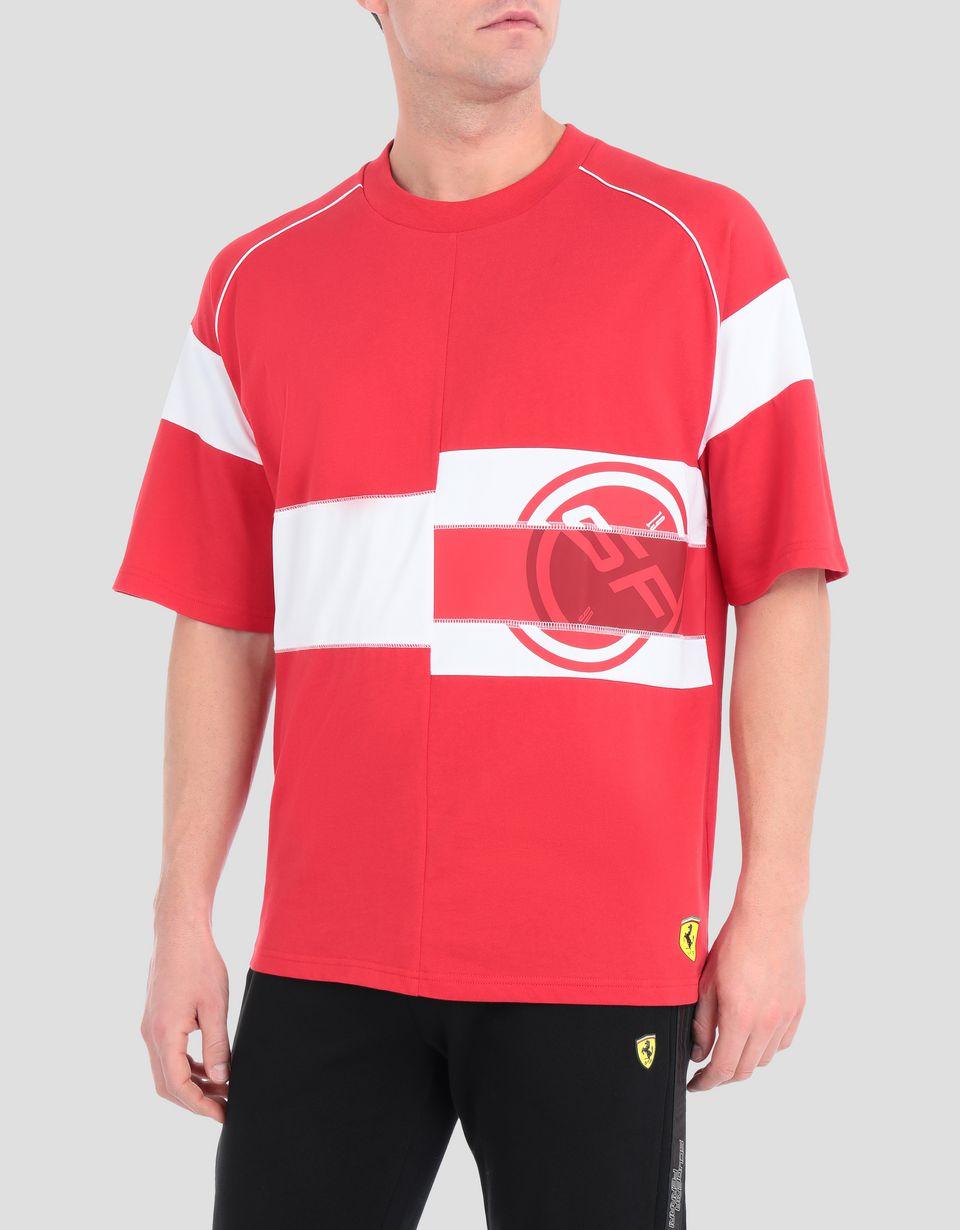 Scuderia Ferrari Online Store - Мужская футболка Scuderia Ferrari Speed Cat - Футболки с короткими рукавами