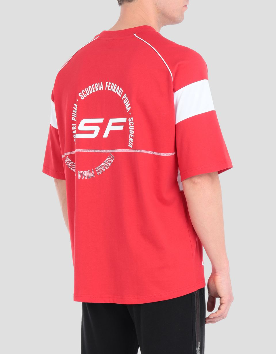 Scuderia Ferrari Online Store - Scuderia Ferrari Speed Cat men's T-shirt - Short Sleeve T-Shirts