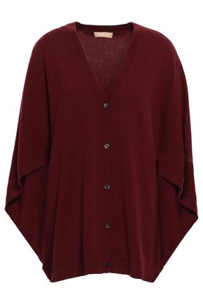 MICHAEL KORS | Michael Kors Collection Cape-Effect Cashmere Cardigan | Goxip