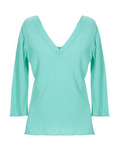 Фото 2 - Женский свитер FLOOR светло-зеленого цвета