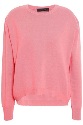 CEDRIC CHARLIER Virgin wool and cashmere-blend sweater