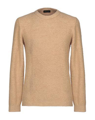 Фото - Мужской свитер ROBERTO COLLINA цвет песочный
