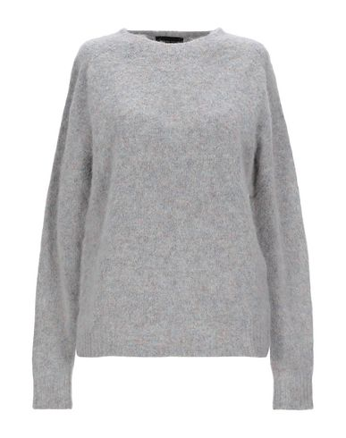 Фото - Женский свитер ROBERTO COLLINA светло-серого цвета