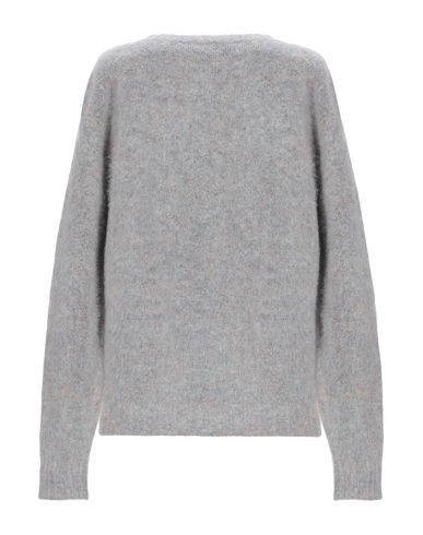 Фото 2 - Женский свитер ROBERTO COLLINA светло-серого цвета