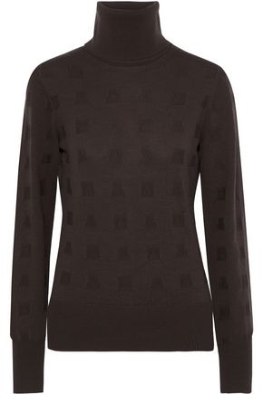 CHALAYAN Cutout wool turtleneck sweater