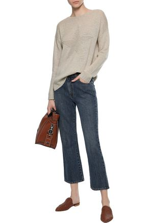 AUTUMN CASHMERE Ribbed cashmere sweater