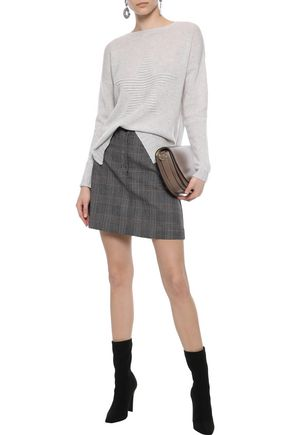 AUTUMN CASHMERE Ribbed wool sweater
