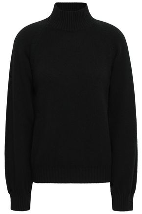 Virgin Wool And Cashmere Blend Turtleneck Sweater by Alberta Ferretti