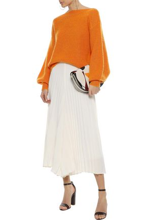 TEMPERLEY LONDON Ribbed mohair-blend sweater