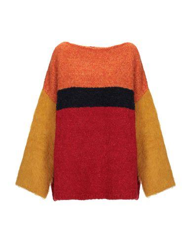 Фото - Женский свитер NUWOOLA красного цвета