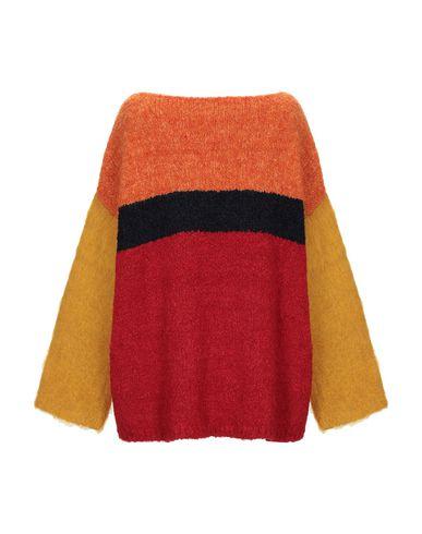 Фото 2 - Женский свитер NUWOOLA красного цвета