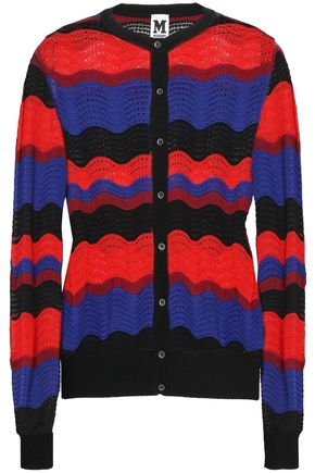 M MISSONI Pointelle-knit cardigan