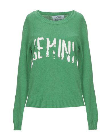 Фото - Женский свитер CLASHIN.G CRABS зеленого цвета