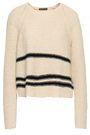 JAMES PERSE Intarsia cotton-blend sweater