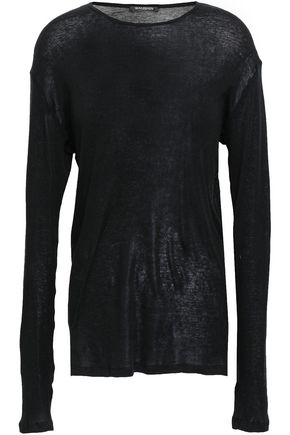 BALMAIN Cotton-jersey top