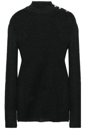BALMAIN Button-detailed knitted top