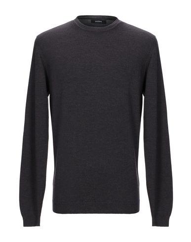 Фото - Мужской свитер ALPHA STUDIO темно-коричневого цвета