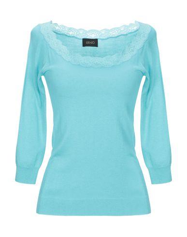 Фото - Женский свитер  небесно-голубого цвета