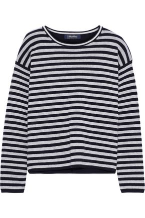 MAX MARA Bacco striped wool-blend sweater