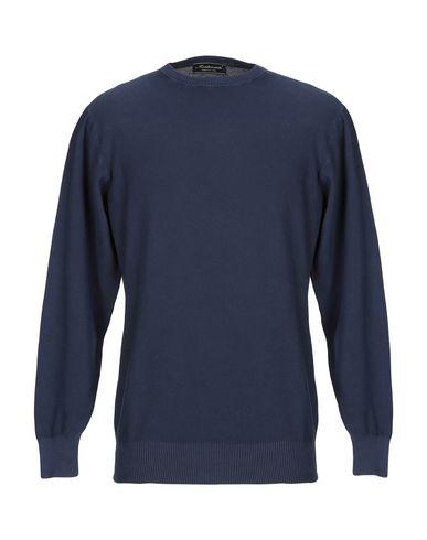 Купить Мужской свитер MONTEVERDI темно-синего цвета