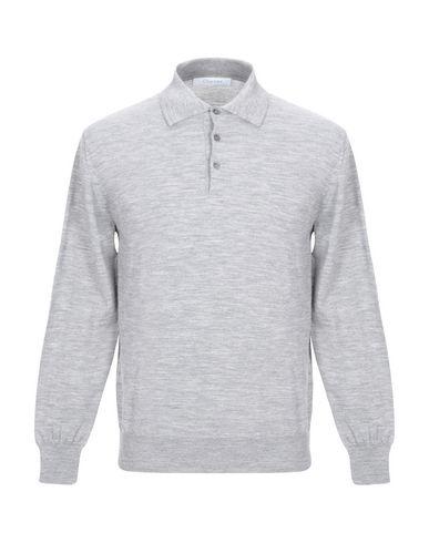 Купить Мужской свитер  светло-серого цвета